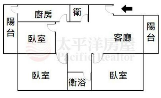 南區秒殺3房健身寓,台南市南區中華南路二段